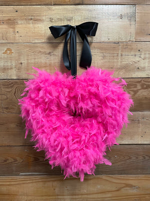 Cupid's Heart Wreath - Bonnie Harms Designs