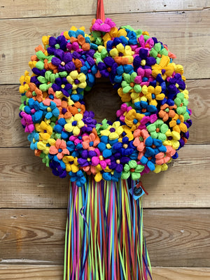 Resurrection Terecitas Wreath - Bonnie Harms Designs
