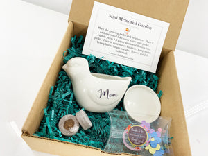 """The Mini Memorial Garden"" Custom Gifts by Weathered Raindrop"