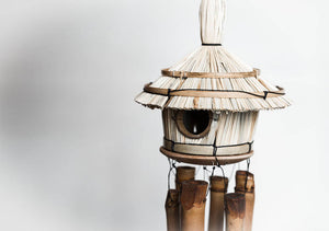 Anniversary & Wedding Bird House Bamboo Wind Chime