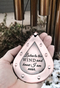 "27"" Memorial Wind Chime - Loss of a Loved One"