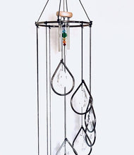 Memorial Chandelier Wind Chime Sun Catcher Gift for Mom or Grandma Teardrop Prisms