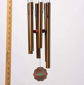 Memorial Wind Chimes God's Creations Memorial Sympathy Wind Chime Gift After of Loved One Bird In Memory of Baby or Adult