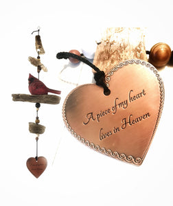 Cardinal Memorial Drift Wood Garden or Porch Decor In Memory Of loved One Gift After Loss