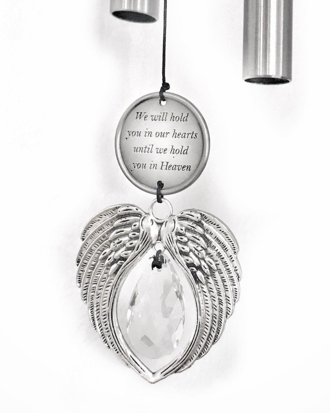 Memorial Prism Angel Wind Chime Sun Catcher Gift Direct Shipping Sympathy Gift Teardrop Prisms