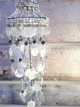 Memorial Sea Shell Chandelier 27 inch Wind Chime Sympathy Gift After Loss In Memory of Loved One Direct Shipping