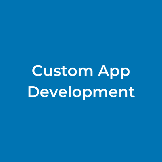 Custom App Development