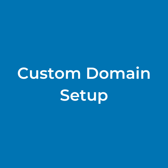 Custom Domain Setup