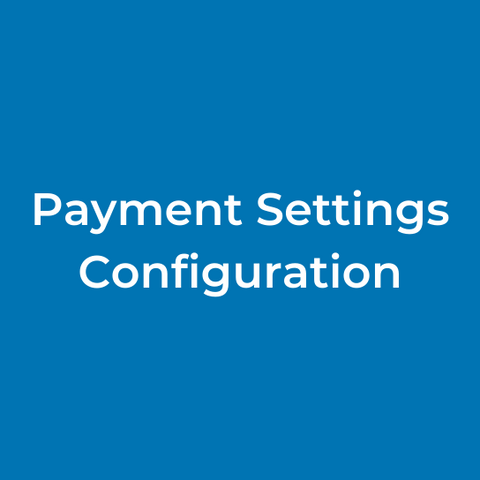 Payment Settings Configuration