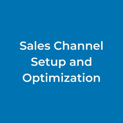 Sales Channel Setup and Optimization