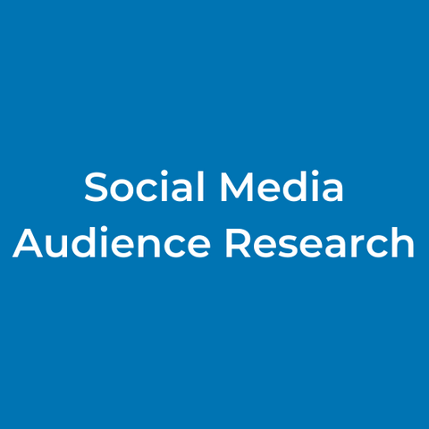 Social Media Audience Research
