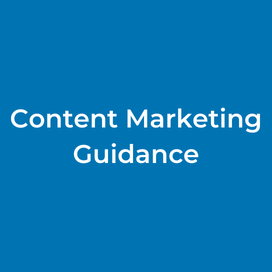 Content Marketing Guidance