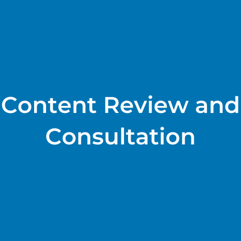 Content Review and Consultation