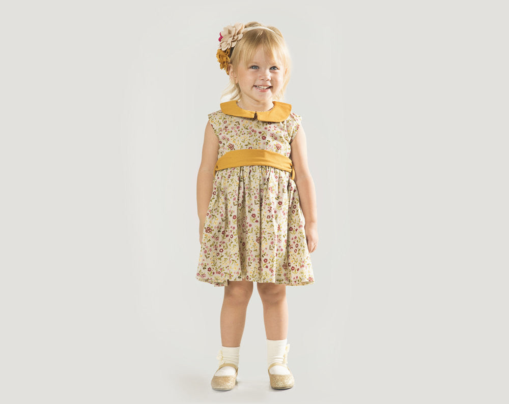 """Baby Dress for Wedding Sizes 6 Months to 24 Months – The """"Charlotte ..."""