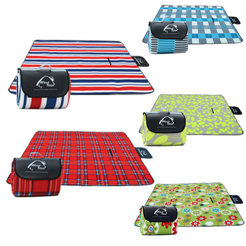 Moisture Proof Padded Picnic Blanket