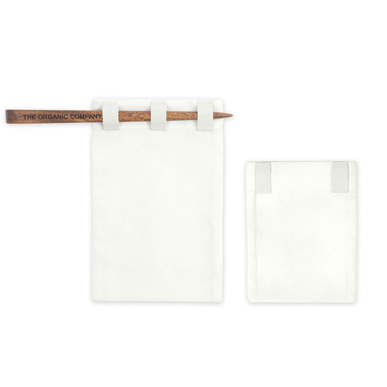 The Organic Company Fabric Tea Bag - Set of 2