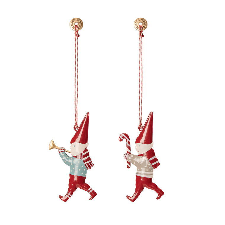 Hanging Metal Ornament - Pixy