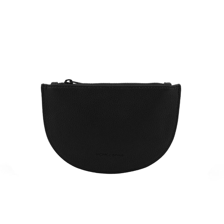 Monk & Anna Mondo Moon Wallet - Black