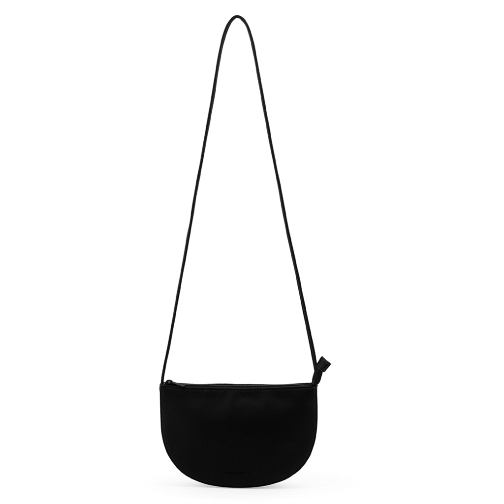 Farou Half Moon Bag - Black
