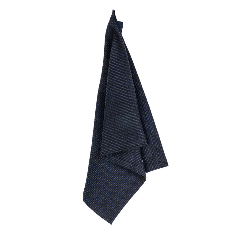 The Organic Company Kitchen & Wash Cloth - Dark Blue