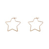 Iman Star Hoops - Gold