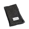 The Organic Company Big Waffle Kitchen & Wash Cloth - Dark Grey