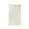 Big Waffle Kitchen and Wash Cloth - White