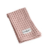 The Organic Company Big Waffle Kitchen & Wash Cloth - Pale Rose