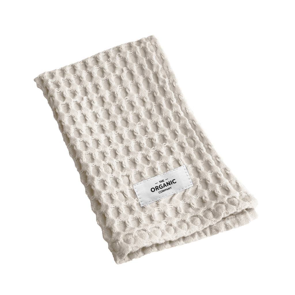 Big Waffle Kitchen and Wash Cloth - Stone