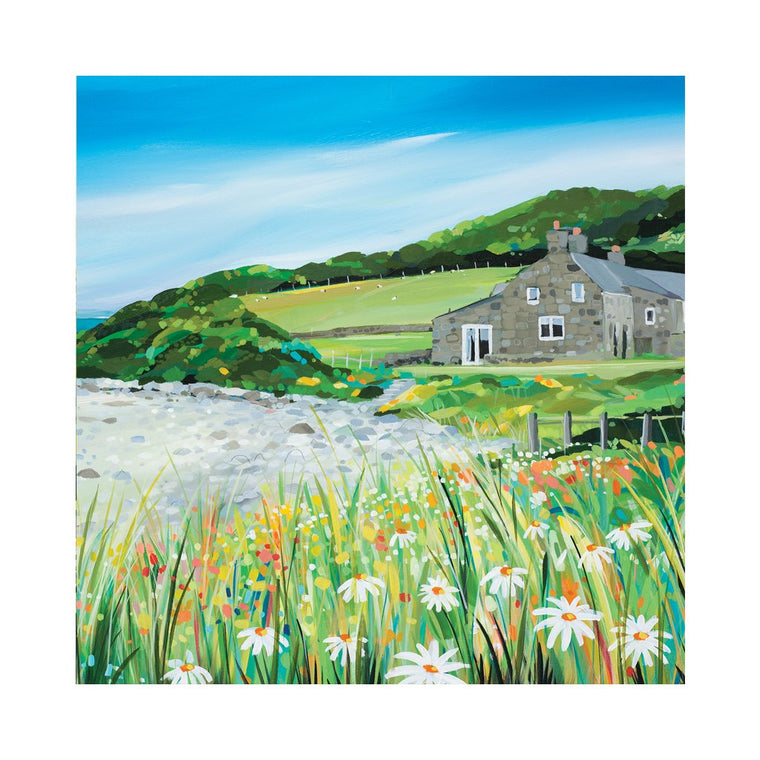 Llanddona Cottage Card