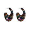 Big Metal LDN - Manon Abstract Resin Earrings