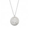 One & Eight Porcelain Silver Mist Necklace