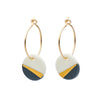 Gold Ray Earrings