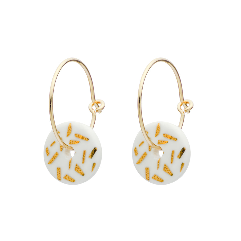 Gold Dash Earrings