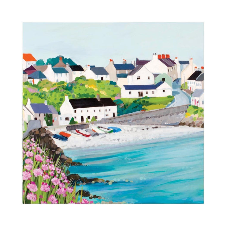 Moelfre Sea Pinks Card