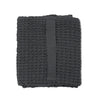 Big Waffle Medium Towel - Dark Grey