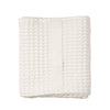 The Organic Company Big Waffle Medium Towel - White