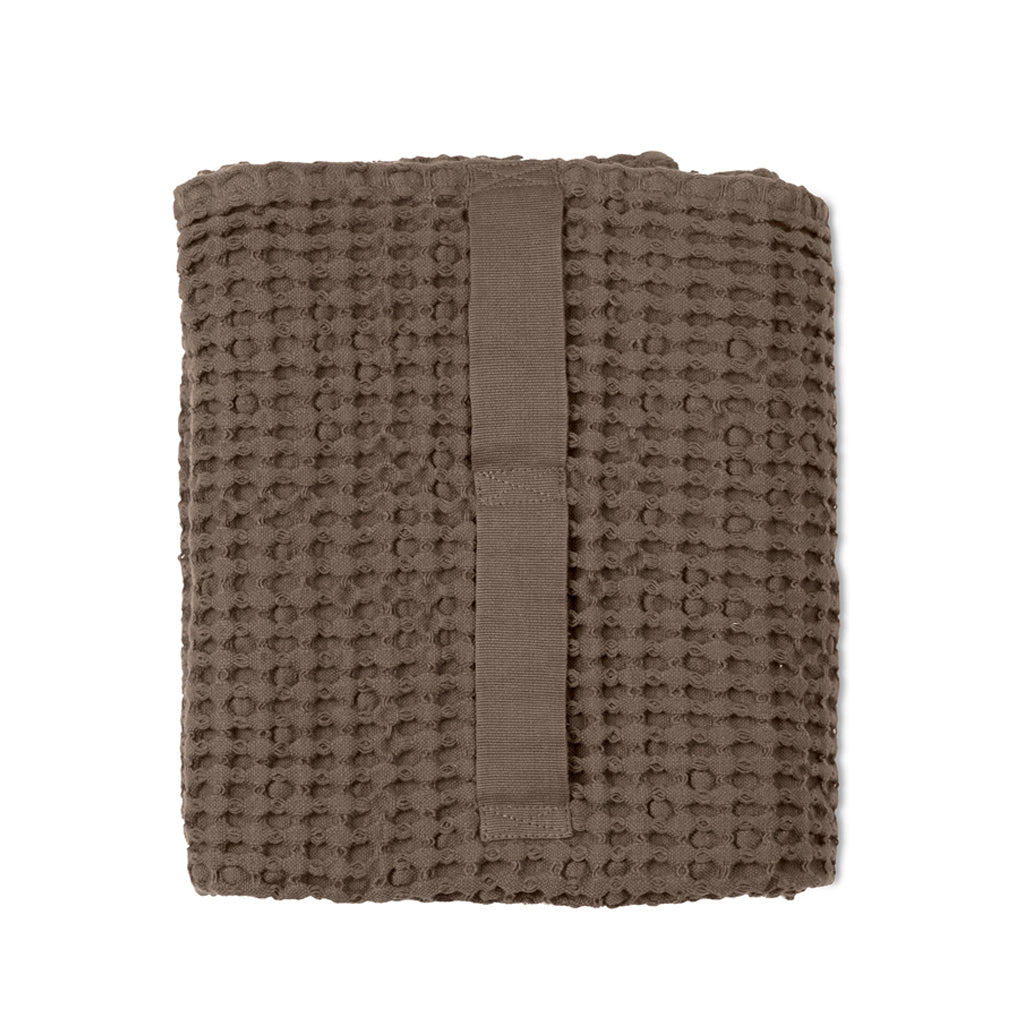Big Waffle Medium Towel - Clay