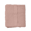 The Organic Company Big Waffle Medium Towel - Pale Rose