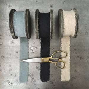 Ribbon - Linen Black