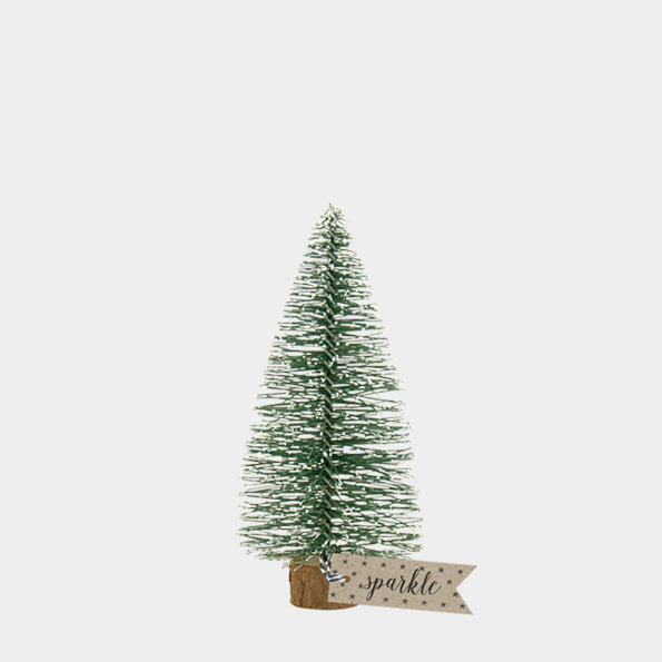 Bottle Brush Christmas Tree - Medium