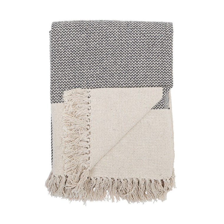 Cotton Throw - Grey