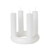 Broste Lucia Advent Candle - Pure White