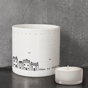 Tea Light Holder - Home Is Where The Heart Is