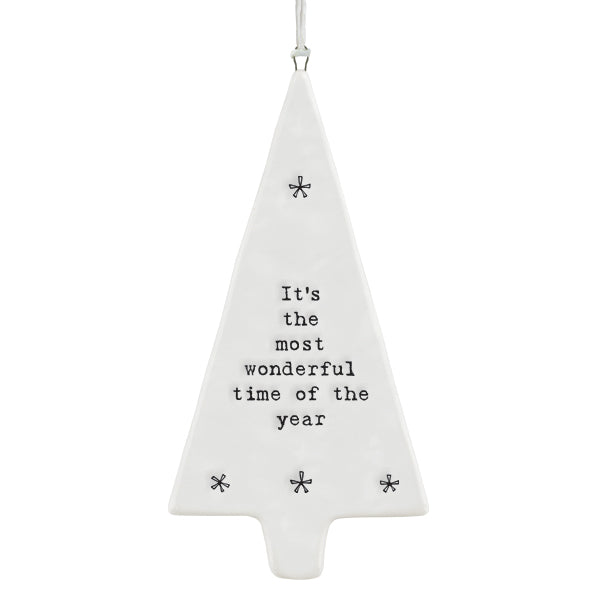 Hanging Ornament - Tree Most Wonderful Time