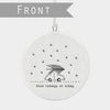 Hanging Ornament - Glad Tidings We Bring