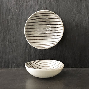 Bowl - Small Scratched Lines