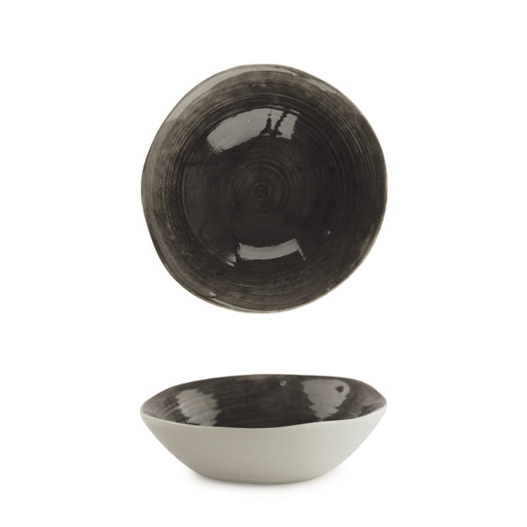 Bowl - Small Black Wash