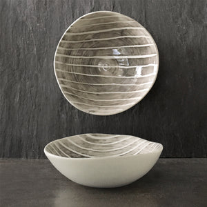 Bowl - Medium Painted Stripe