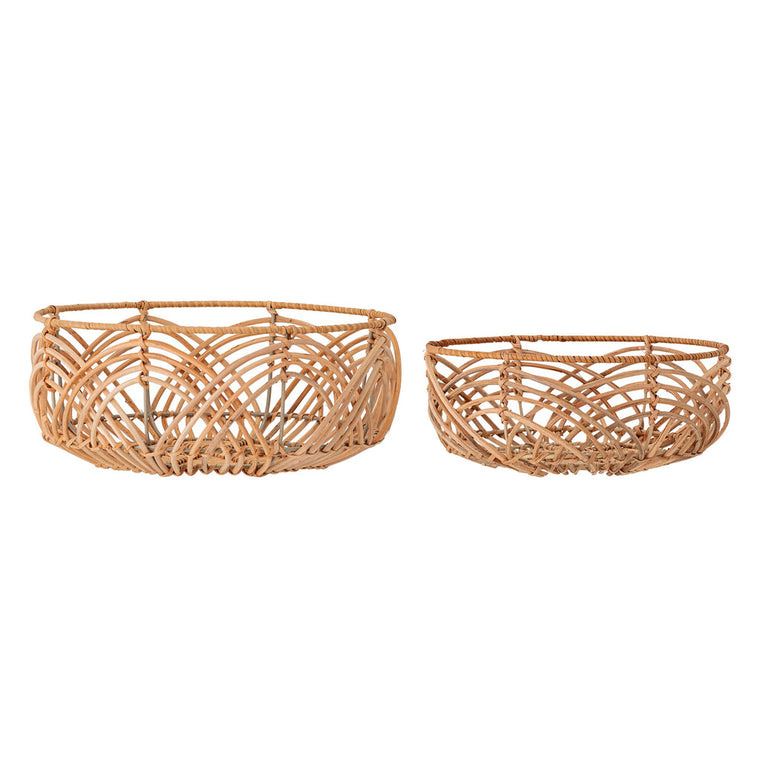 Bread Basket - Rattan